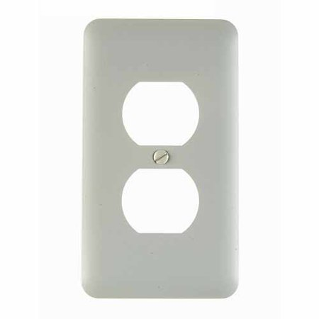Traditional Steel Outlet Cover