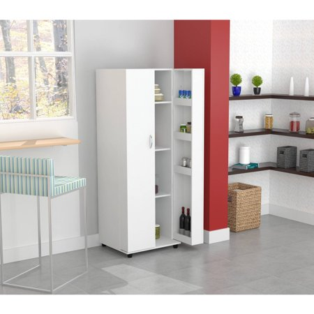 Inval Kitchen Storage Cabinet/Pantry, Larcinia-White ...