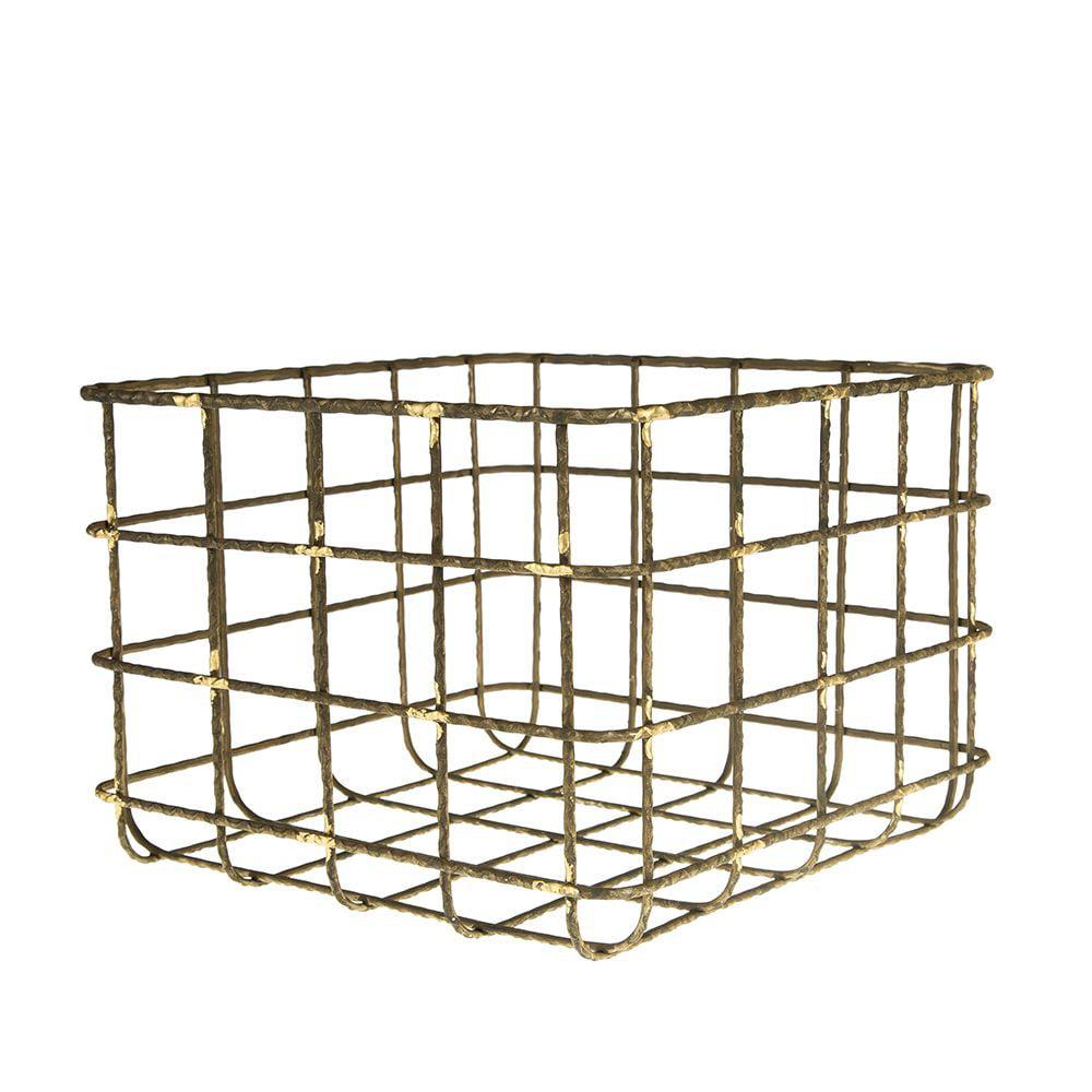 Creative Co Op   Medium Wire Basket