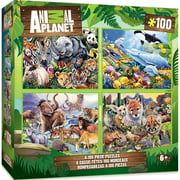 4-pack Animal Planet Multipack 100 Piece Puzzles