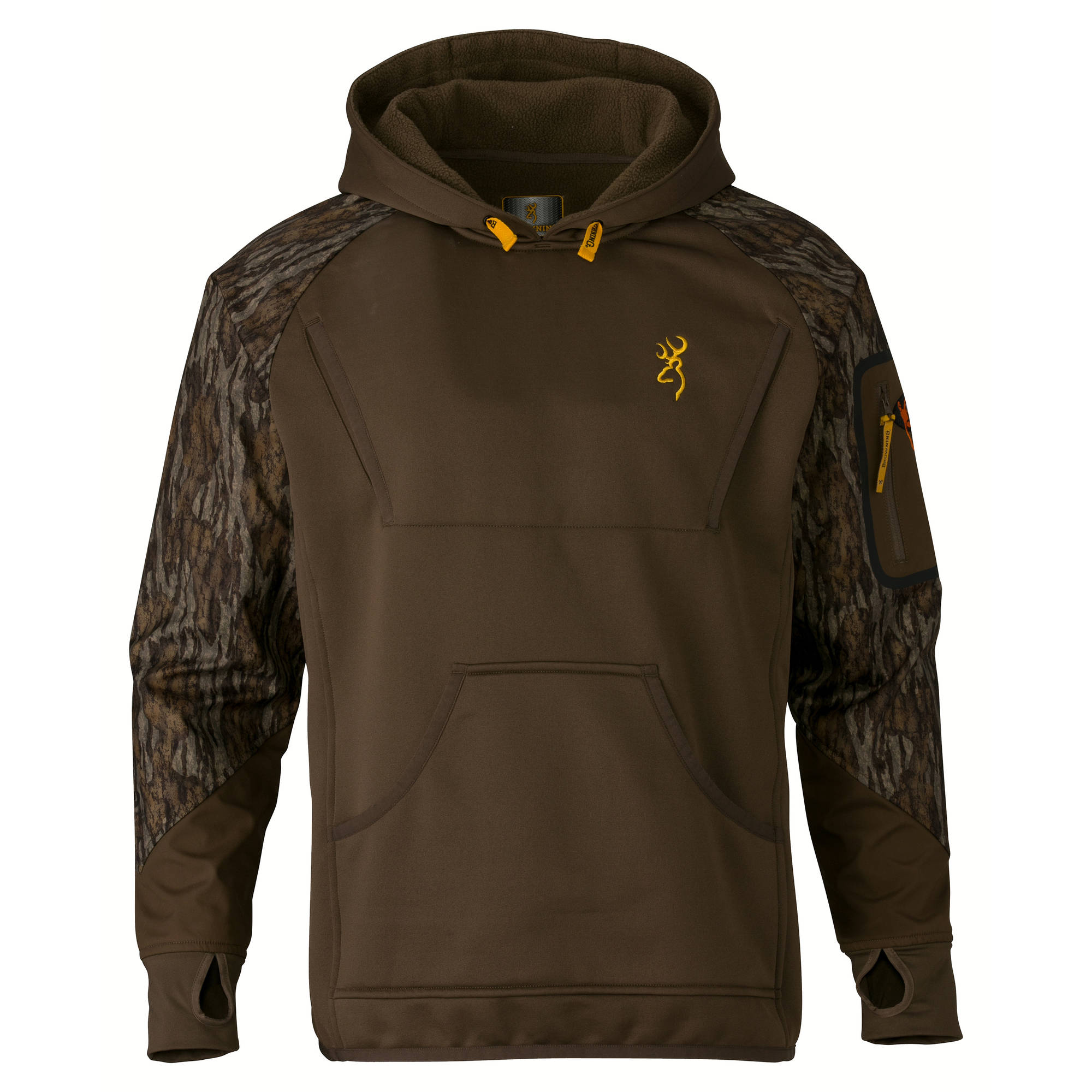 Browning Wicked Wing Timber Fleece Hoodie Mossy Oak Bottomlands by Browning