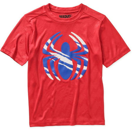 Spiderman-marvel Boys Poly Tee](Spiderman Suits For Sale)