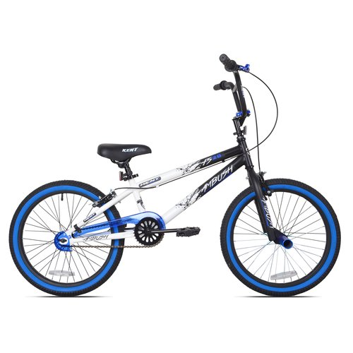 "20"" Kent Ambush Boys' BMX Bike, Blue"