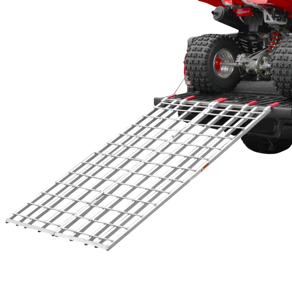 "Black Widow Aluminum Bi-Fold ATV Loading Ramp 71"" x 44"""