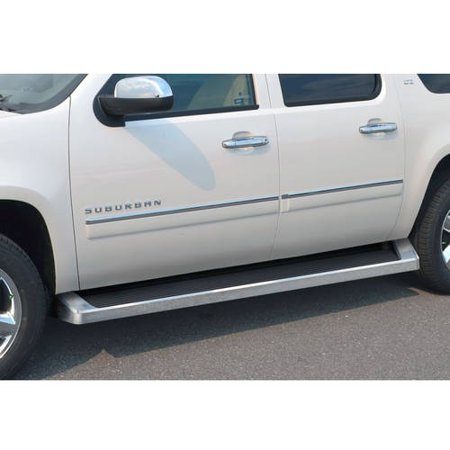 2005- 2019 Chevy Suburban (Excl. Z71/Hybrid)\ 2005- 2019 GMC Yukon XL (Excl. Z71/Hybrid)\ 2003-2013 Chevy Avalanche (No Cladding) Polish Finish 6 Inch iRunning Board Side Bar Side Step Running Board