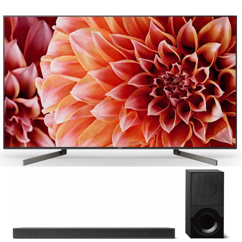 Sony XBR55X900F 55-Inch 4K Ultra HD Smart LED TV (2018) with 2.1ch Soundbar by Sony