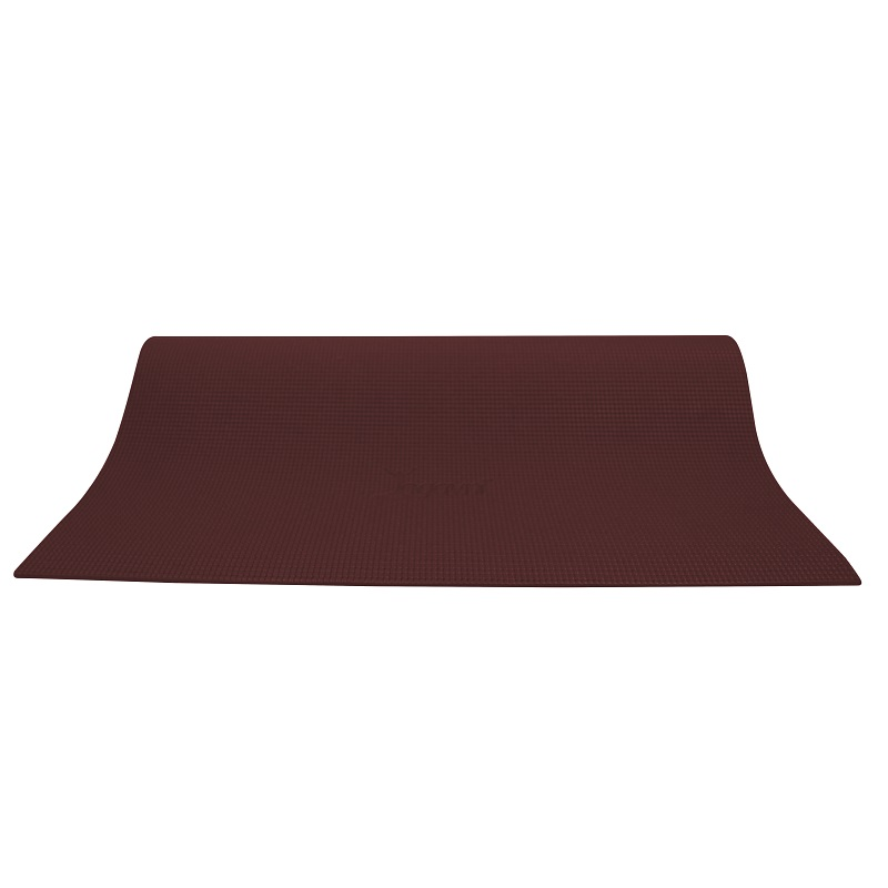 Dark Brown Starter Yoga Mat 4mm Thick, Non-Skid For Eco Conscious Yogi - By Yogavni(TM) - image 1 of 1