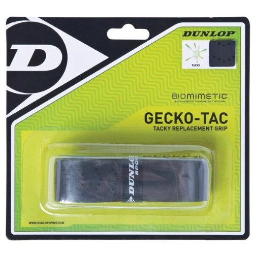 GeckoTac Black Tacky Replacement Tennis Grip