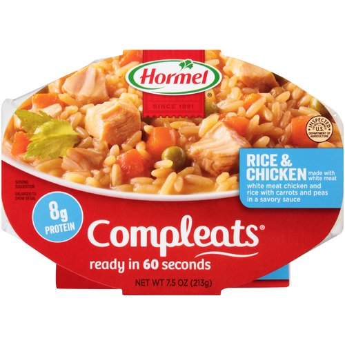 Hormel Compleats Rice & Chicken, 7.5 oz