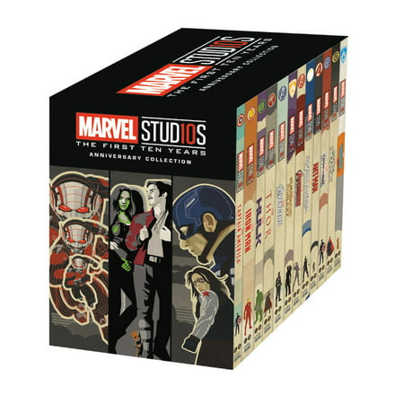 Marvel Studios: The First Ten Years Anniversary Collection (Paperback)