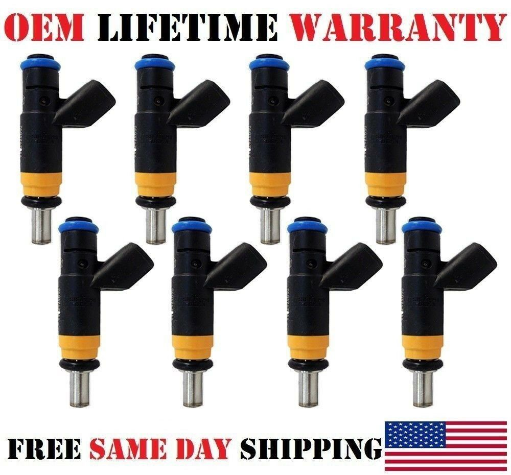 2008 Cleaned /& Flow Tested Fuel Injector set  5.7L V8 Dodge Truck Shipped Today
