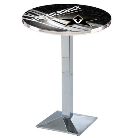 Holland Bar Stool L217C4236Vander-D2 42 in. Vanderbilt Commodores Pub Table with 36 in. Top, Chrome - image 1 de 1