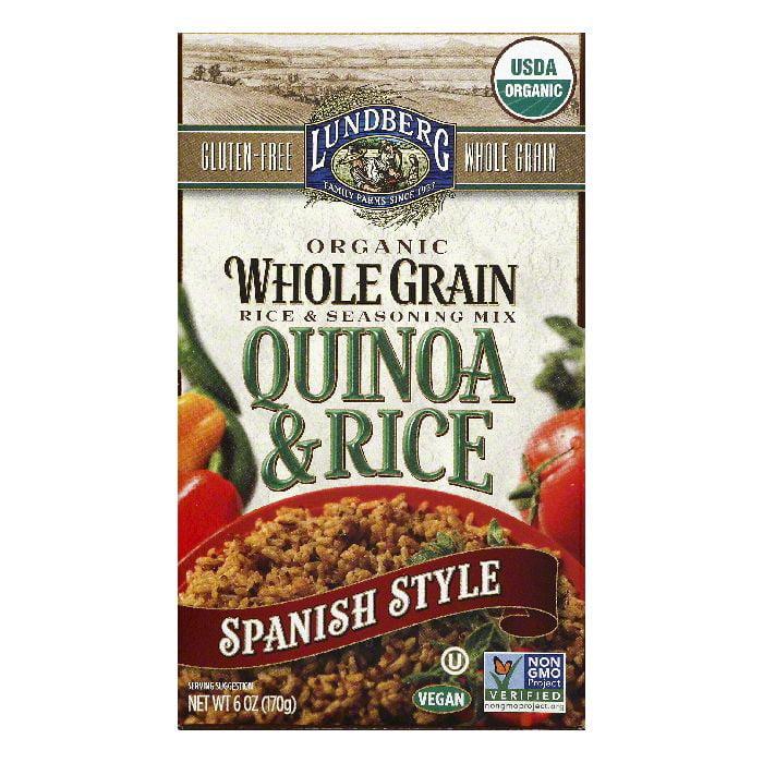 DISCOED Lundberg Spanish Style Quinoa & Rice, 6 OZ (Pack of 6)
