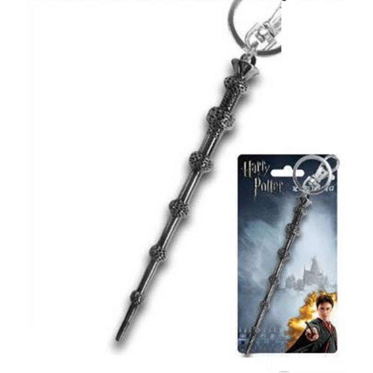 Harry Potter Pewter Key Ring: Dumbledore's Wand