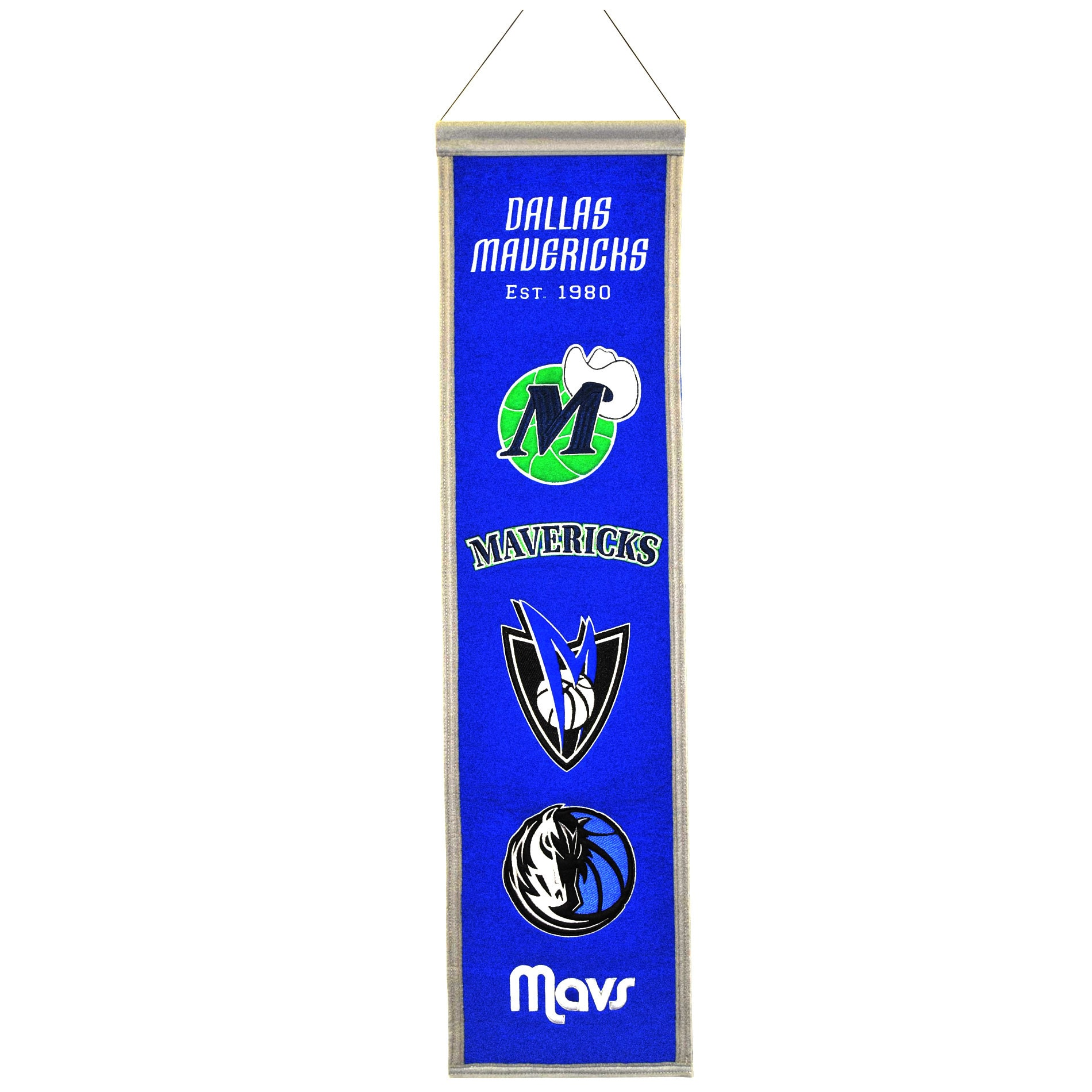NBA Heritage Banner, Dallas Mavericks