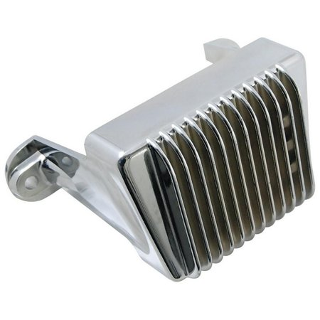 Harley Davidson Regulator - NEW 12V CHROME VOLTAGE REGULATOR FITS HARLEY DAVIDSON ROAD GLIDE 2009-2013 7450506 74505-06