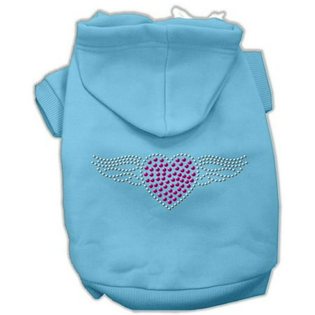 Mirage Pet Products Aviator Hoodies Baby Blue S - Toddler Aviators
