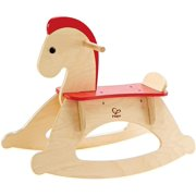 Hape Rock and Ride Kid's Wooden Rocking Horse, Wooden By Visit the Hape Store
