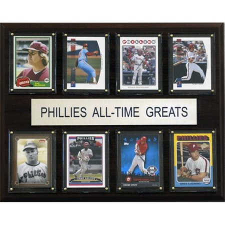 C & I Collectables 1215ATGPHILS MLB Philadelphia Phillies All-Time Greats Plaque - image 1 of 1
