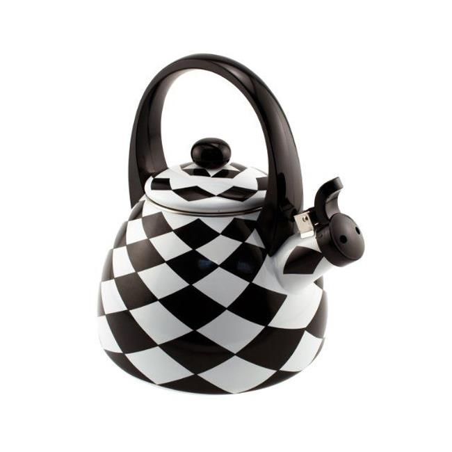 Supreme Housewares 71512 Black Diamond Whistling Tea Kettle