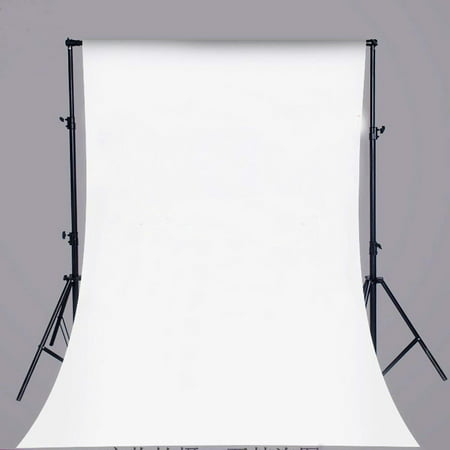 ABPHOTO Polyester 5x7ft White Background Pure Color Photo Studio Pictorial Cloth Photography Backdrop Background Studio Prop Best For Studio,Club, Event or Home