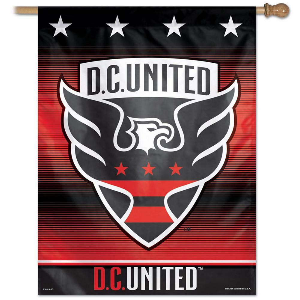 D.C. United Vertical Outdoor House Flag