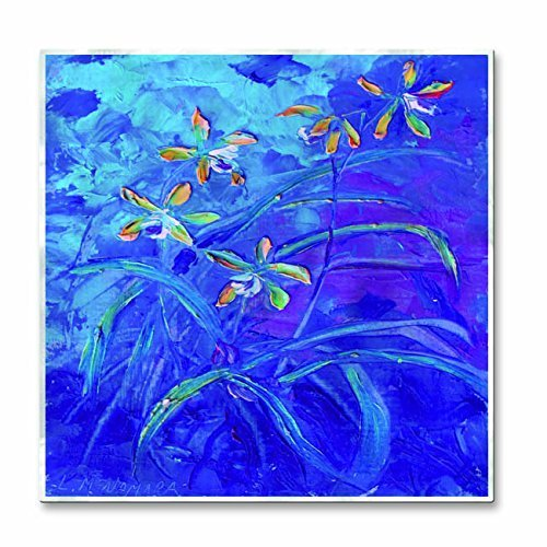 All My Walls 0134ME00010 Floral Metal Art Wall Sculpture Painting Home Decor