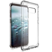 BUDDIBOX Galaxy S8 Case [ICE Series] Scratch Resistant Durable Protective Case for Samsung Galaxy S8 - Total Clear