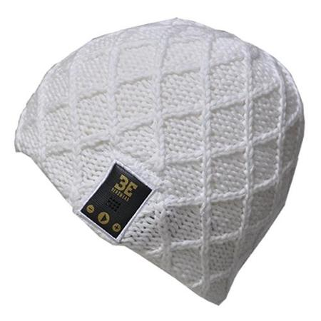 BE Headwear Luvspun Smart Headwear - Head - Bluetooth - 3 Hour - White