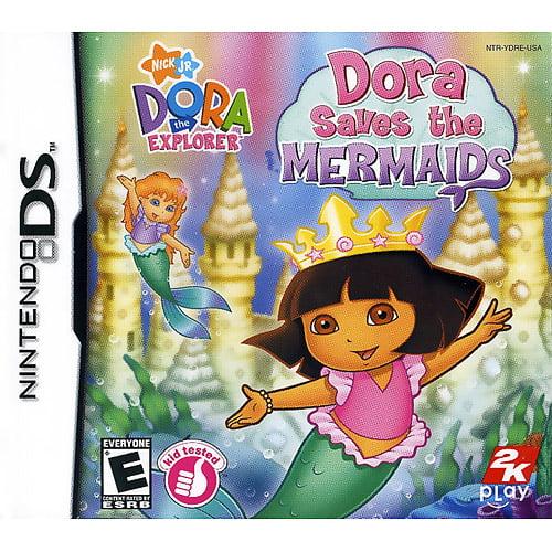 Dora the Explorer: Dora Saves the Mermaids (DS)