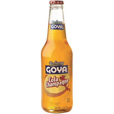 (5 Pack) Goya Glass Bottle Cola Champagne, 12 Fl Oz, 1 Count](Little Bottles Of Champagne)