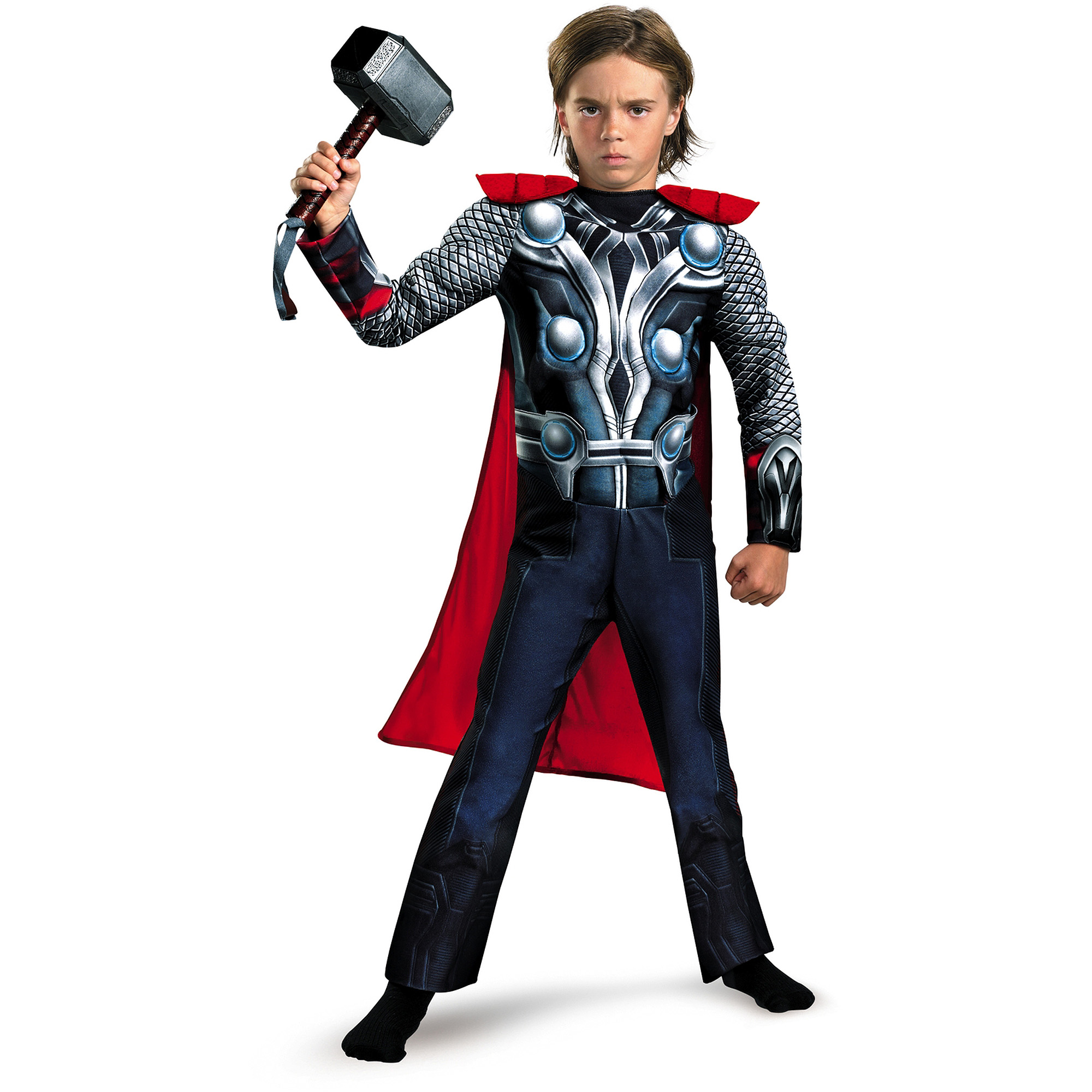 Thor Muscle Child Dress Up Costume