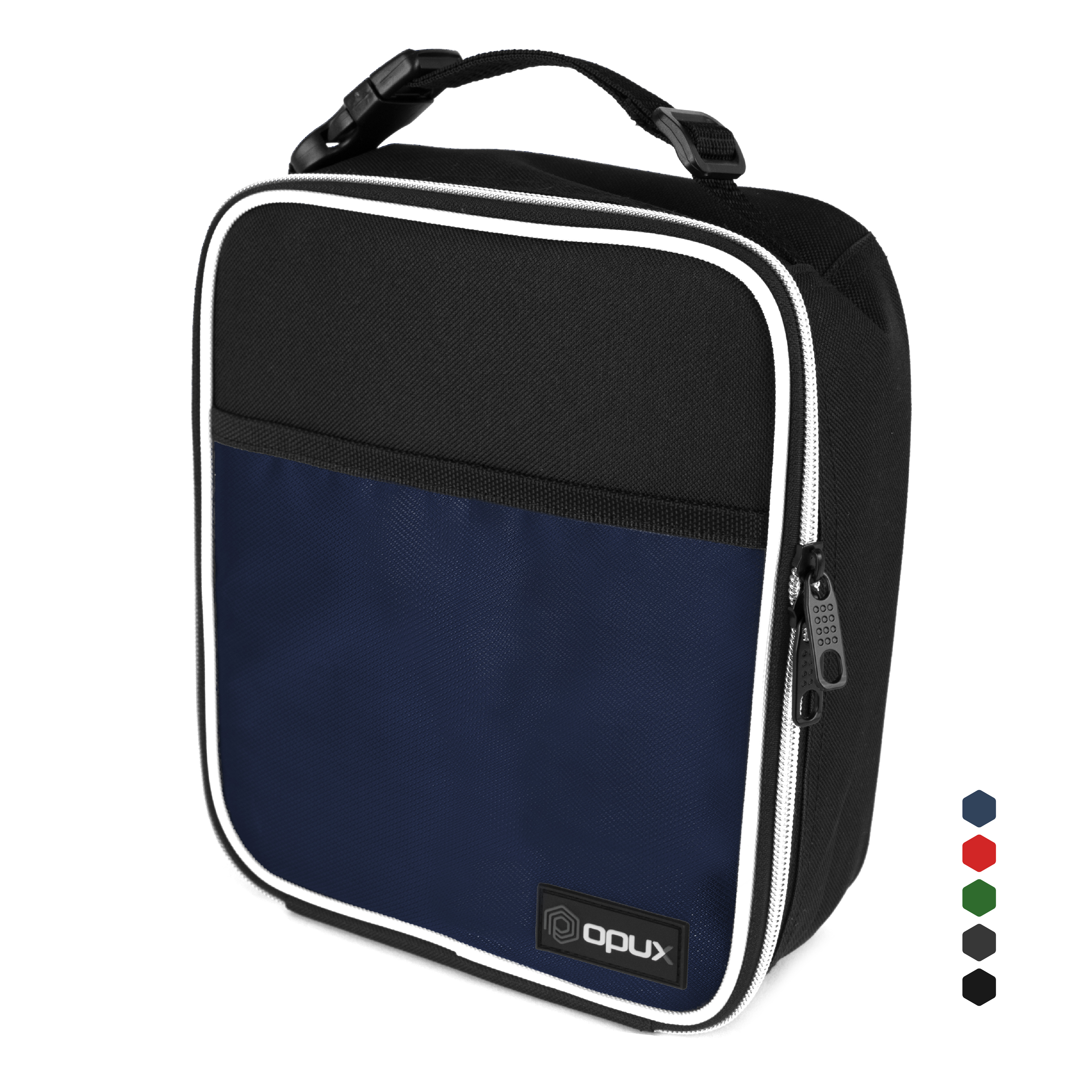 Well-Insulated Small Cooling Lunch Bag by OPUX - Navy