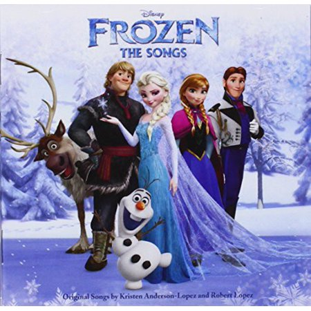 Frozen - The Songs Soundtrack (CD) (Halloween 2 Soundtrack Song List)
