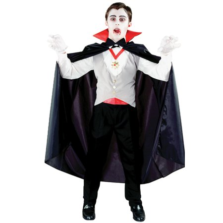 Morris Costumes Classic Vampire Child](Kids Vampire Costumes For Girls)