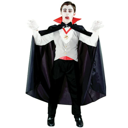 Morris Costumes Classic Vampire Child - Vampire Costumes For Guys