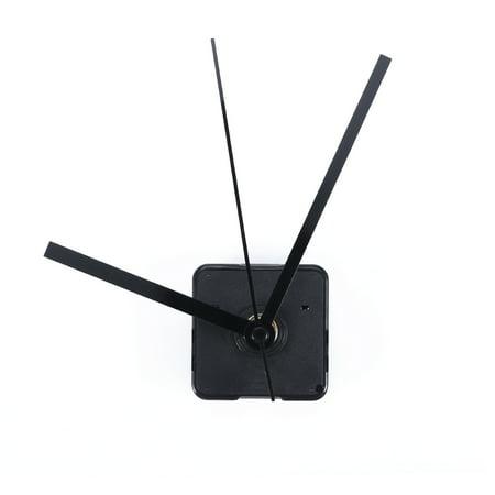 Teaching Hands Clock (Silent Clock Movement Kits for DIY Clock Replacement (Black Straight Clock Hand))