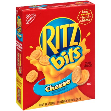 (3 Pack) Ritz Bits Cheese Cracker Sandwiches, 8.8 oz - Clackers For Sale