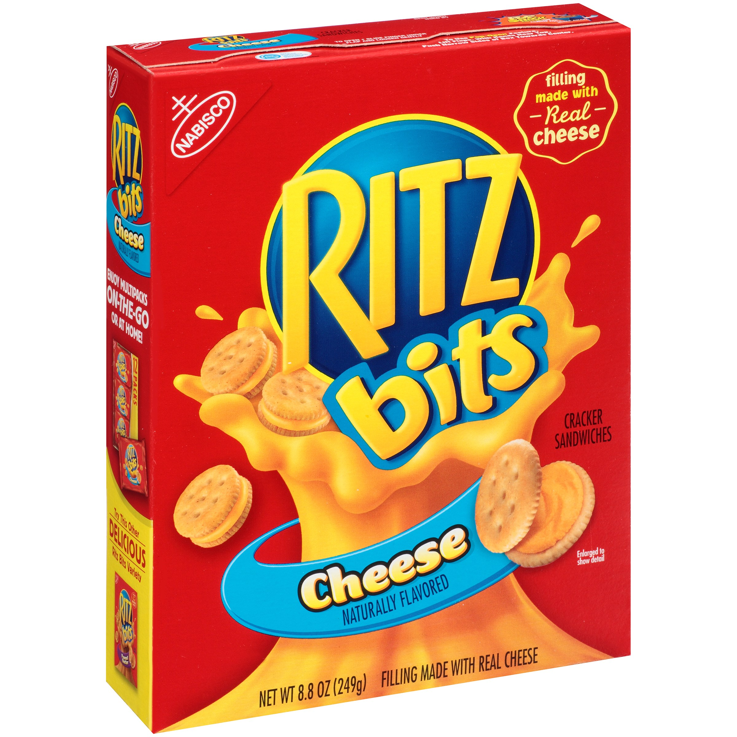Ritz Bits Cheese Cracker Sandwiches, 8.8 oz