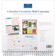 Wall Calendar Scrapbook Pages