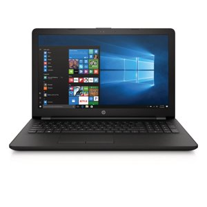 "HP 15-bs212wm 15.6"" Laptop, Windows 10, Intel Celeron N4000 Processor, 4GB Memory, 500GB Hard Drive, DVD, Jet Black"