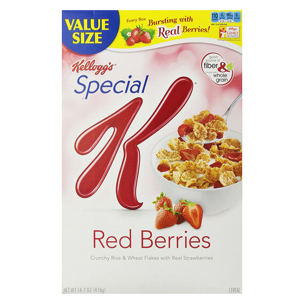 Kellog's Special K Red Berries 11.2 oz Boxes - Single Pack
