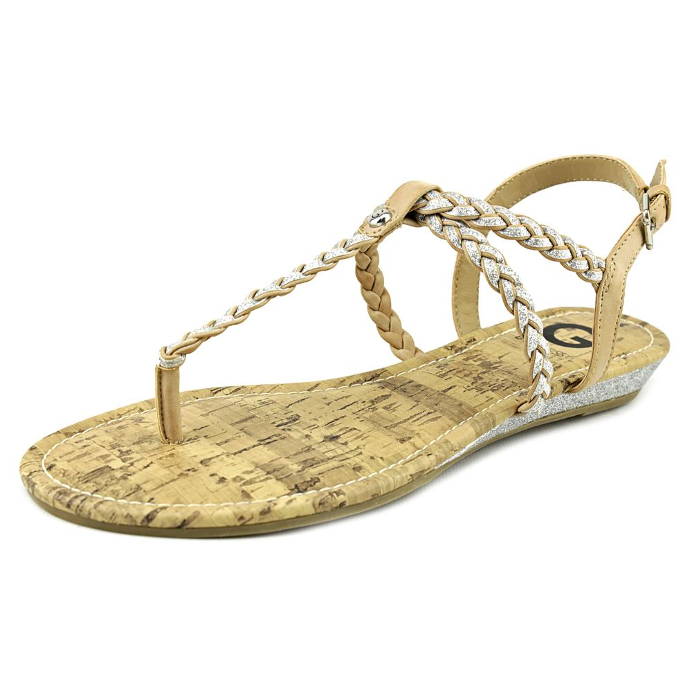 G By Guess Kween Women  Open Toe Synthetic  Thong Sandal