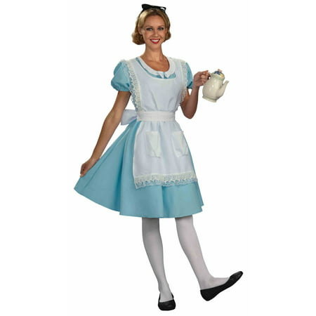 Womens Alice Halloween Costume (Old Lady Halloween Costume For Baby)