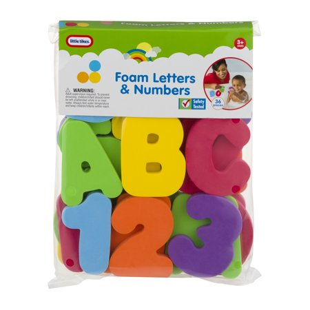 Little Tikes Foam Letters Amp Numbers 3 36 Pc 36 0 Piece