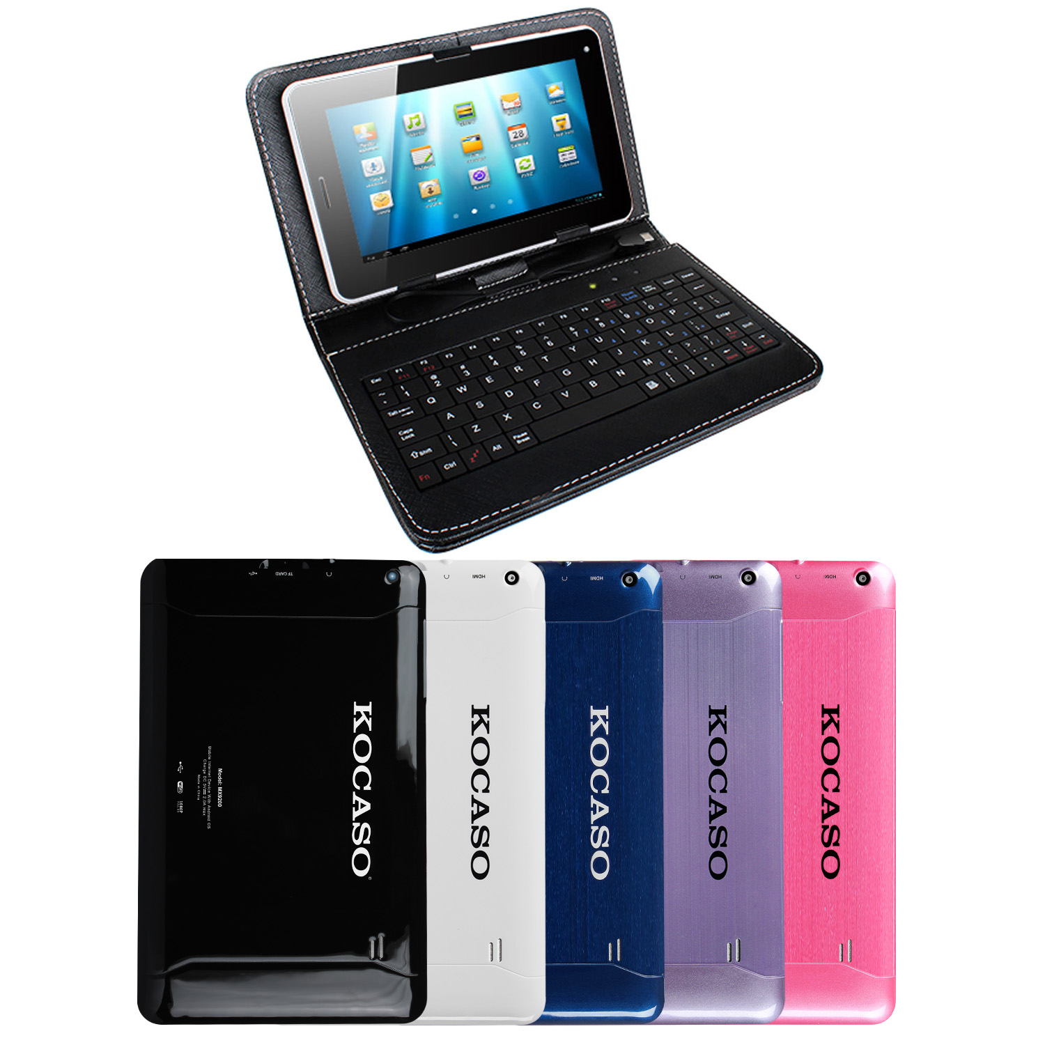 KOCASO MX9200 9 inch Quad Core 8GB Google Android Tablet (Black)
