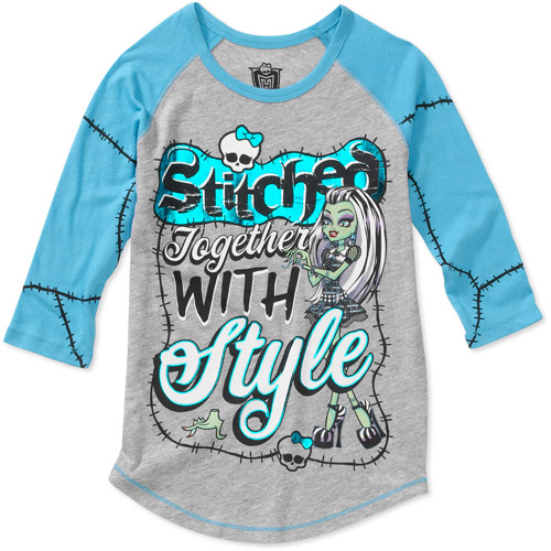 Monster High Girls Monster Stitch Graphi