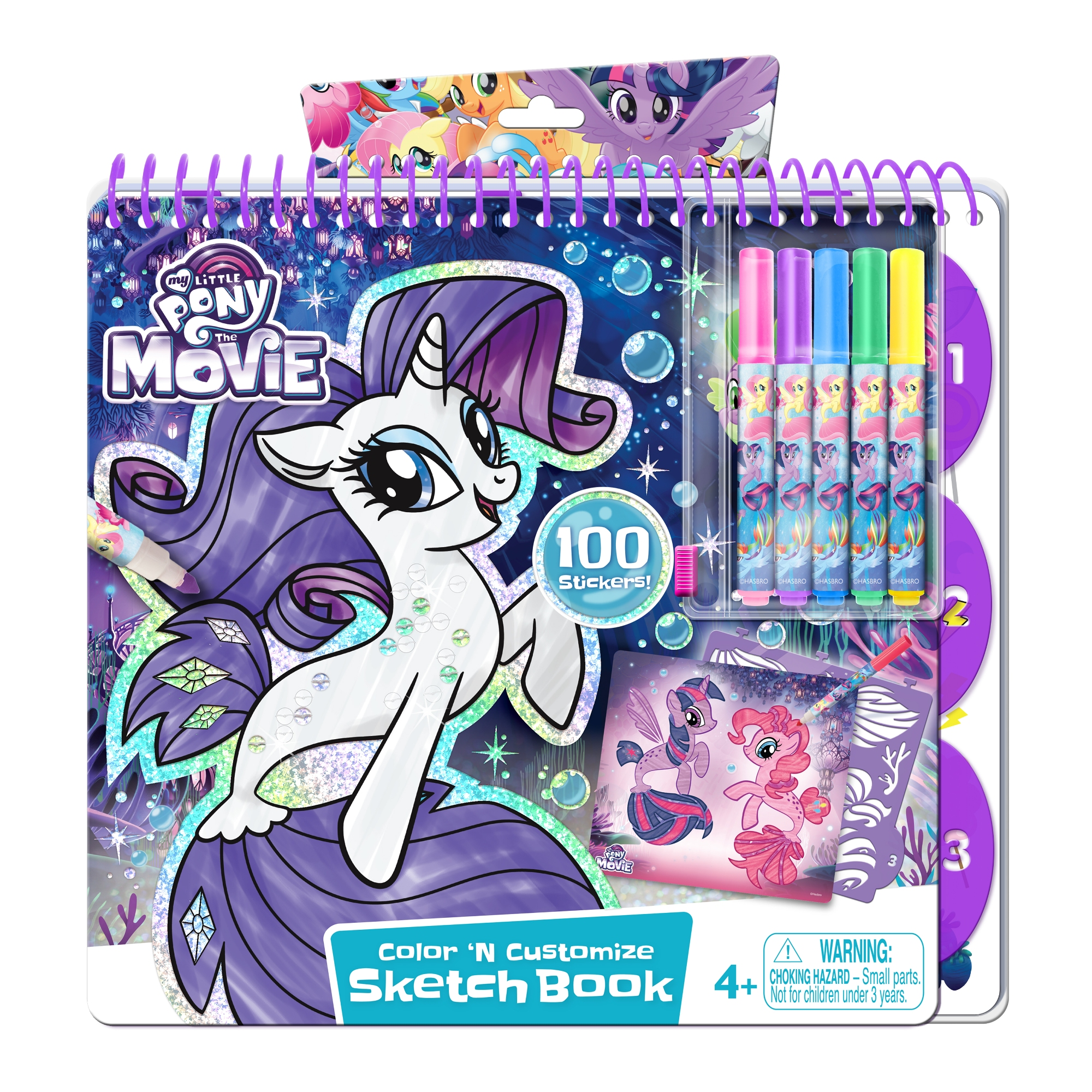 Canal Toys My Little Pony Portfolio with Markers by Canal Toys