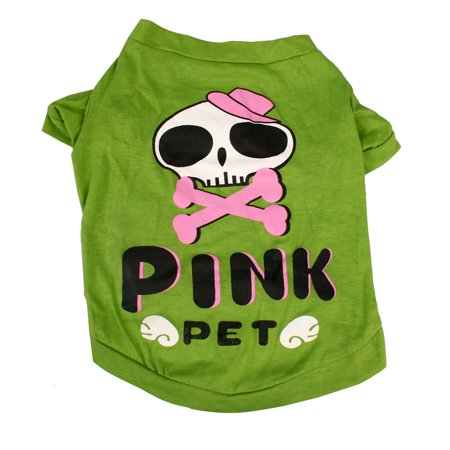Dog T Shirt Puppy Pet Cat Sweatshirt Tops Apparel Vest Costume, #14, S - image 7 de 7