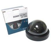 Fake Dome Dummy Fake Surveillance Security Camera Motion Blink Flashing Light !